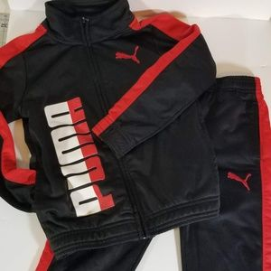 Boys Puma Track Suit (2 pc)